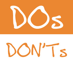 Do's and Don'ts in office