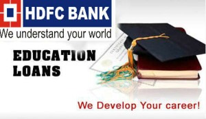 hdfc bank study loan