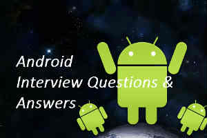 Android interview QA